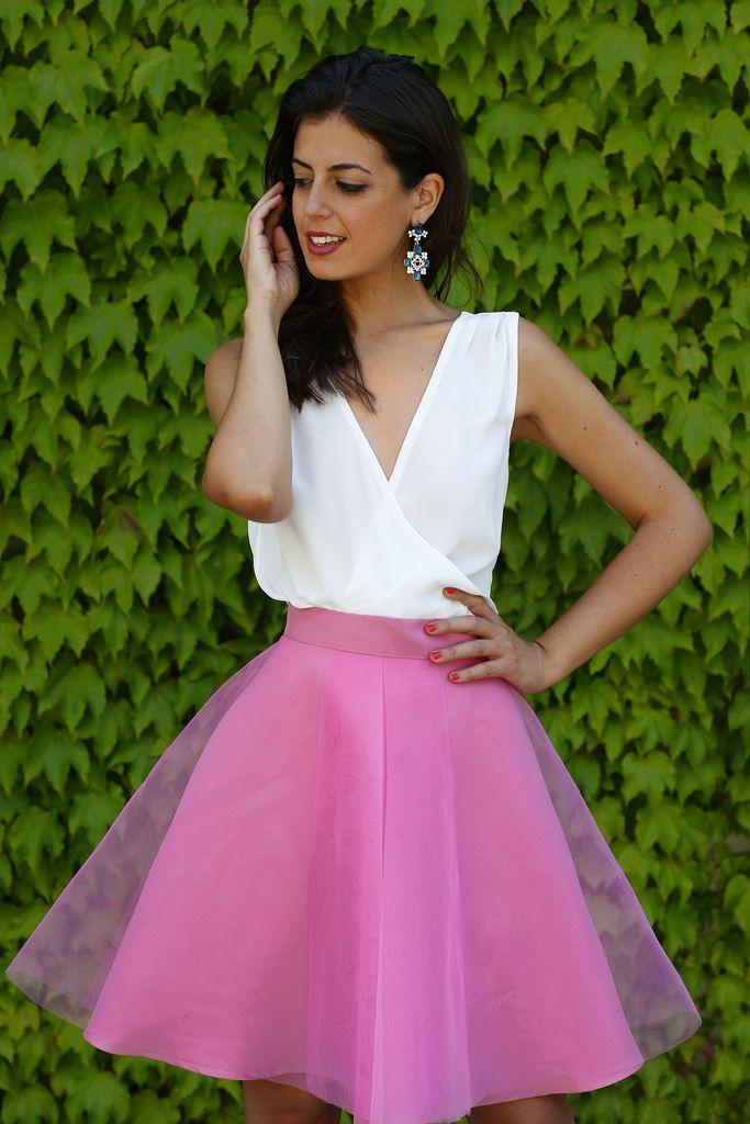 Silvia Navarro P/V 14- Mod.Alma | invitadas con estilo | Pinterest ...