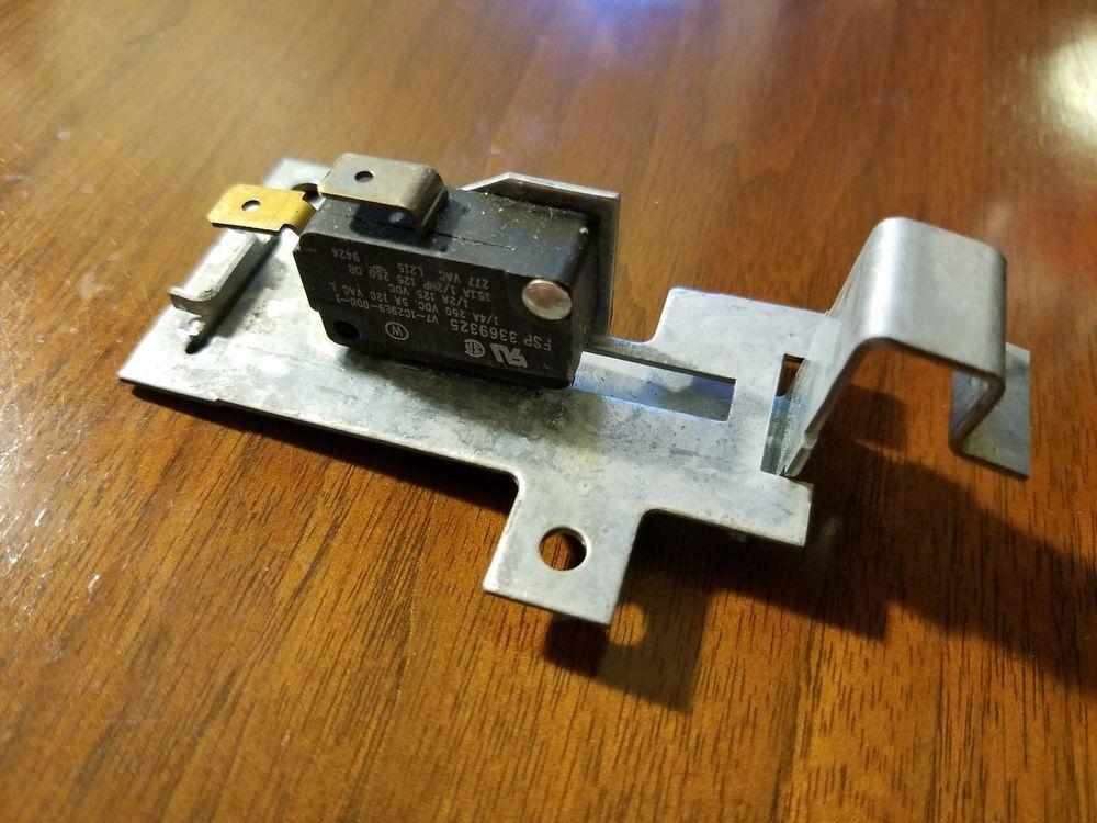 Whirlpool Kitchenaid Kenmore Dishwasher Door Switch Assembly W Bracket 3369325 Whirlpool Door Switch Dishwasher Parts Accessories Appliance Parts