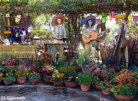 day of the dead outdoor decorations bing images - Day Of The Dead Halloween Decorations
