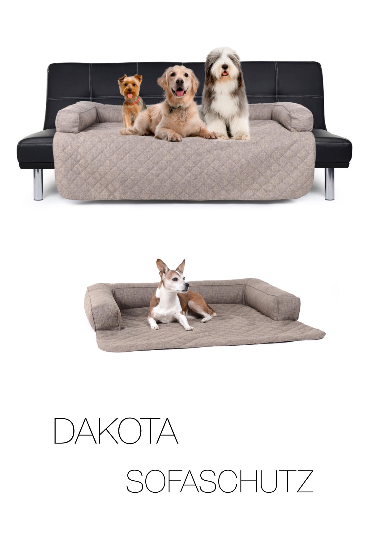 Hunde Sofaschutz Decke Dakota Softline 100x100 Cm Creme
