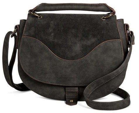 Two Toned Top Handle Cross Body