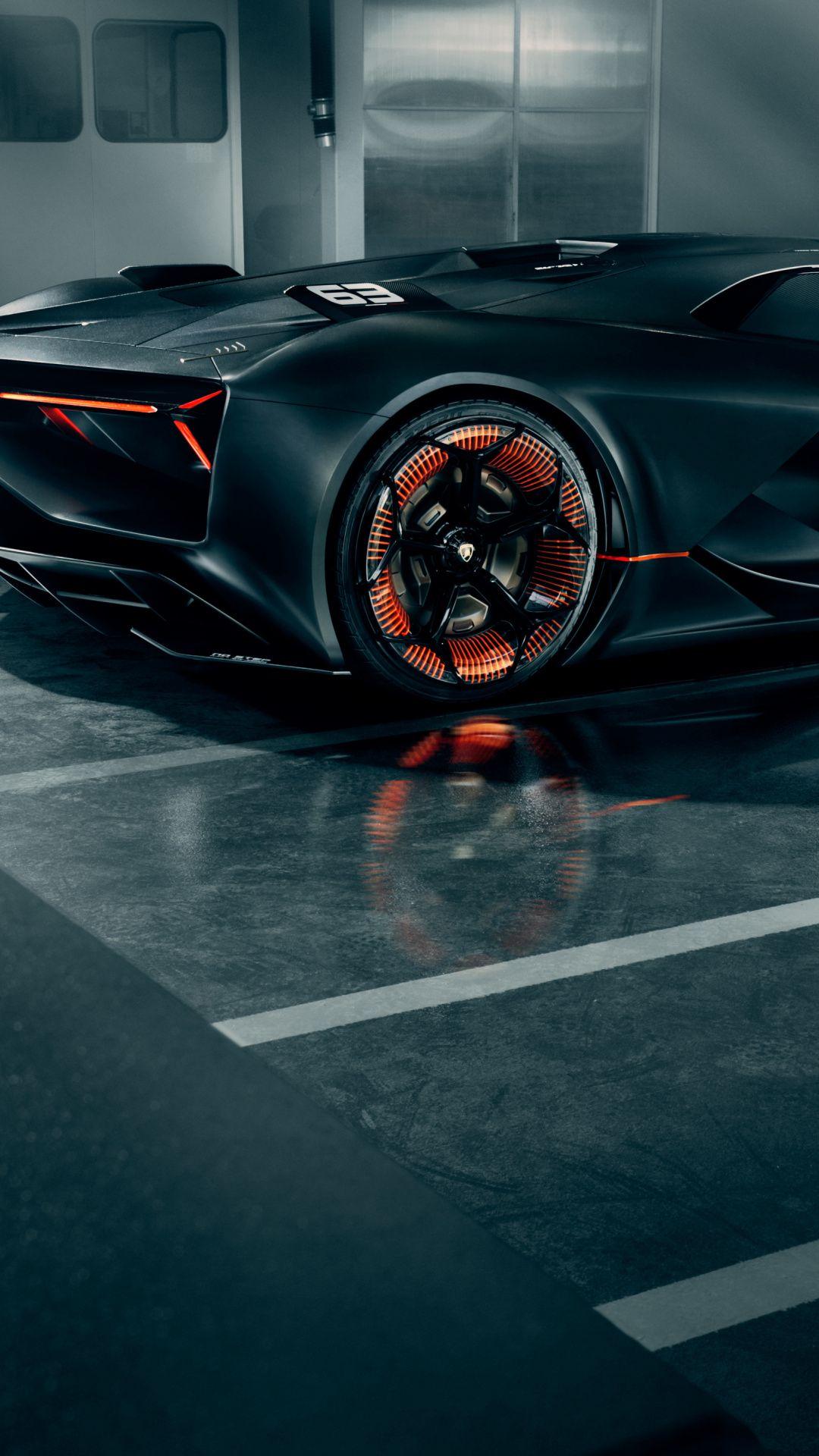 1080x1920 Sportcar Lamborghini Terzo Millennio Wallpaper Lamborghini Futuristic Cars Super Cars