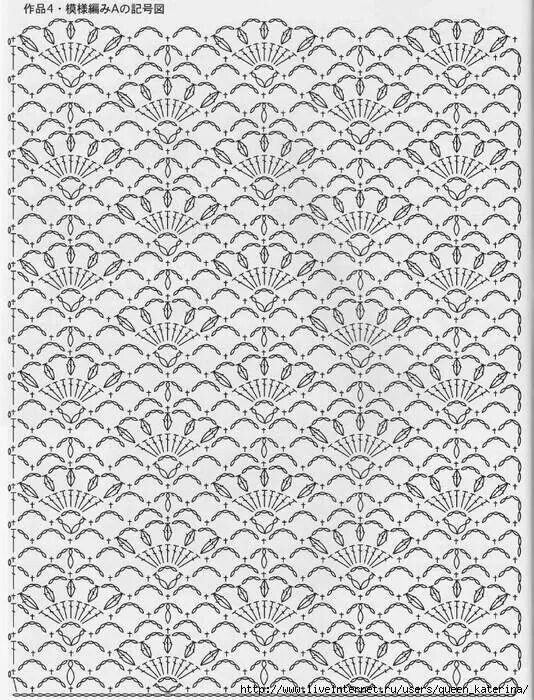 Pontos fantasia de croch crochet lace stitch and crochet chart ccuart Image collections