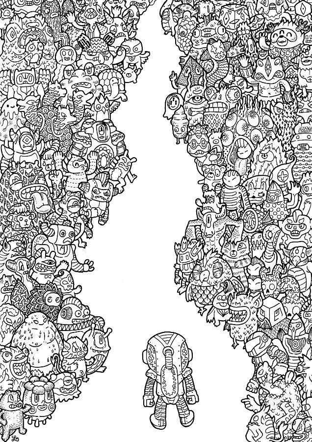 Resultado De Imagen Doodle Chaos