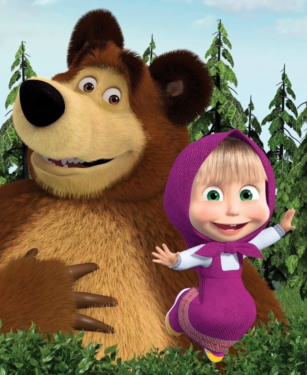 Masha E O Urso Desenho 51 Episodios Em Portugues 5 Dvds R 24 90 Masha E O Urso Marsha E O Urso Lembrancinha Masha E Urso