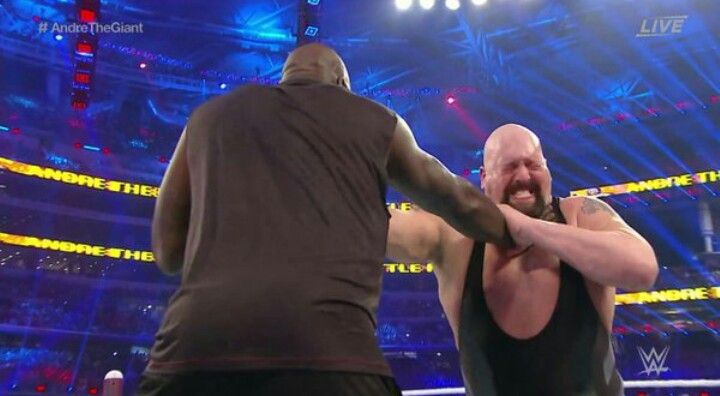 Shaq Vs Big Show With Images Andre The Giant Shaquille O