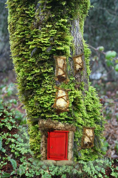 Windows doors by bridget wolfe and for Gnome doors for trees
