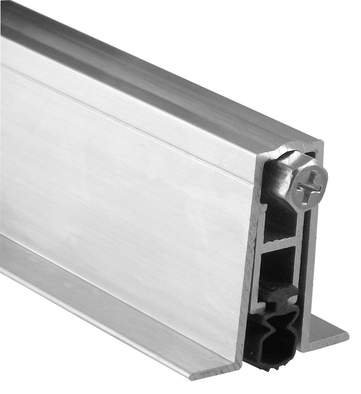 Pemko Aluminum Automatic Door Bottom Mill Finish Pemkoprene 9 16 W X 36 L X 1 3 8 H Industrial Hardware Amazon Com Automatic Door Sound Proofing Aluminum