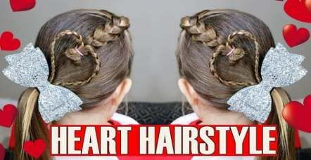 Trendy Hairstyles For Kids Valentines Ideas