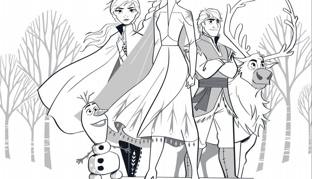 Frozen Coloring Pages 171 Get These Lovely Coloring Sheets And