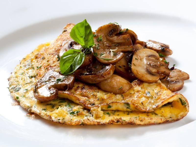 Pfannkuchen mit Pilzen http://einfach-schnell-gesund-kochen.de ...