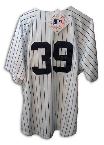 brand new 4211f 1c093 Darryl Strawberry Hand Signed NY Yankees MLB Jersey ...