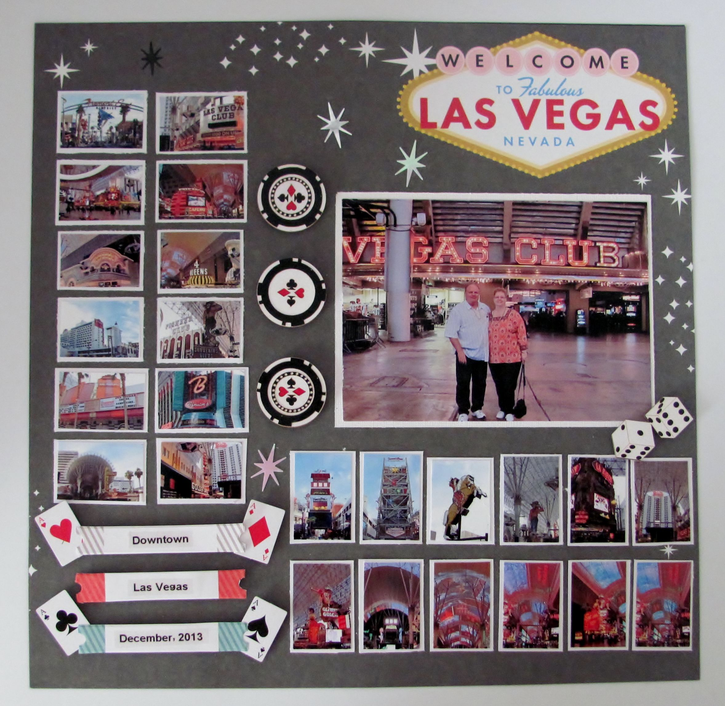 Scrapbook ideas las vegas - Las Vegas Downtown Scrapbook Com