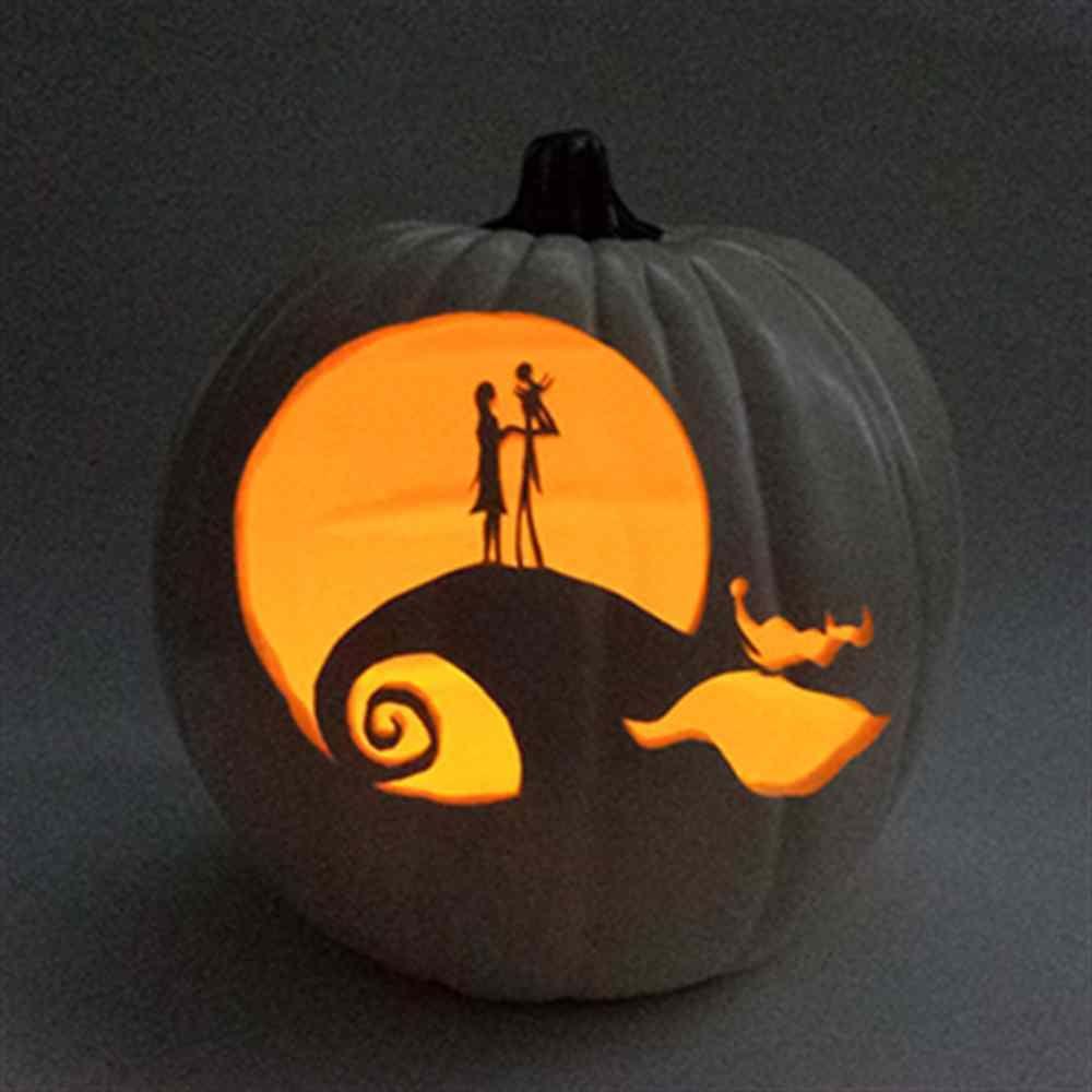 Jack and Sally Pumpkin (artificial pumpkin) The Nightmare Before ...