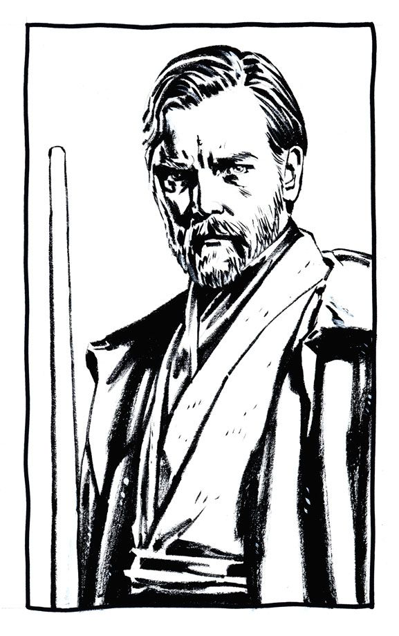 Obi Wan Kenobi Coloring Page Yahoo Image Search Results
