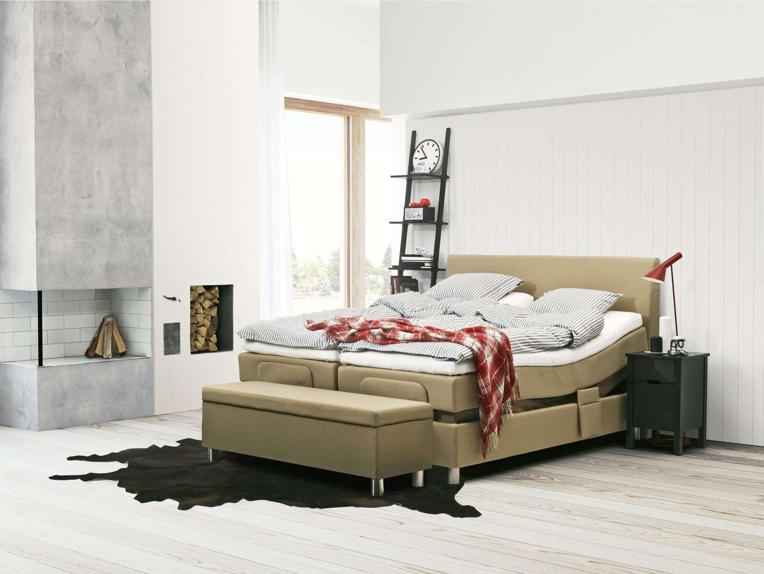 Jensen Model Ambassador Boxspring Bed Bett