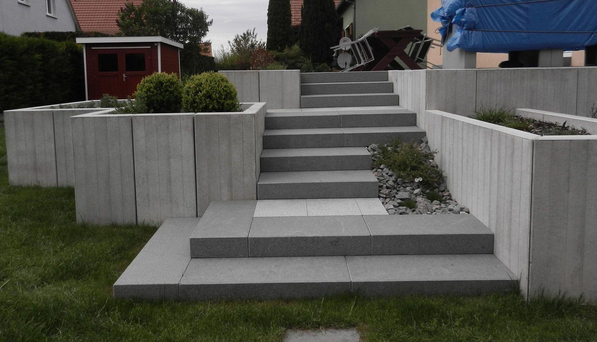 Resultat De Recherche D Images Pour Emmarchement Exterieur Entree Maison Amenagement Jardin En Pente Escalier Exterieur Amenagement Jardin