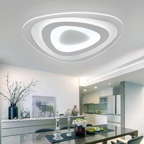 16w Modern Ultrathin Led Flush Mount Ceiling Light 3 Color Adjustable For Living Room Home Modern Led Ceiling Lights Ceiling Lights Flush Mount Ceiling Lights