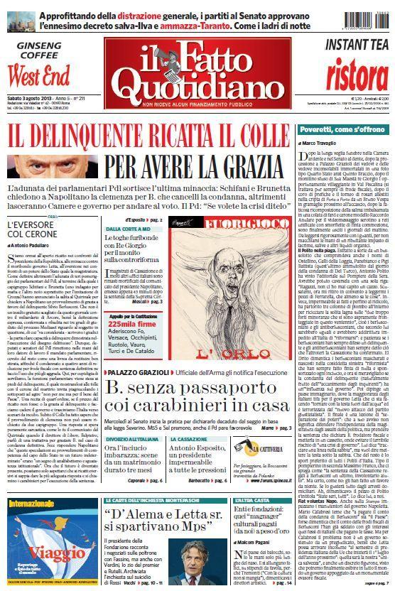 Pdf italian newspaper
