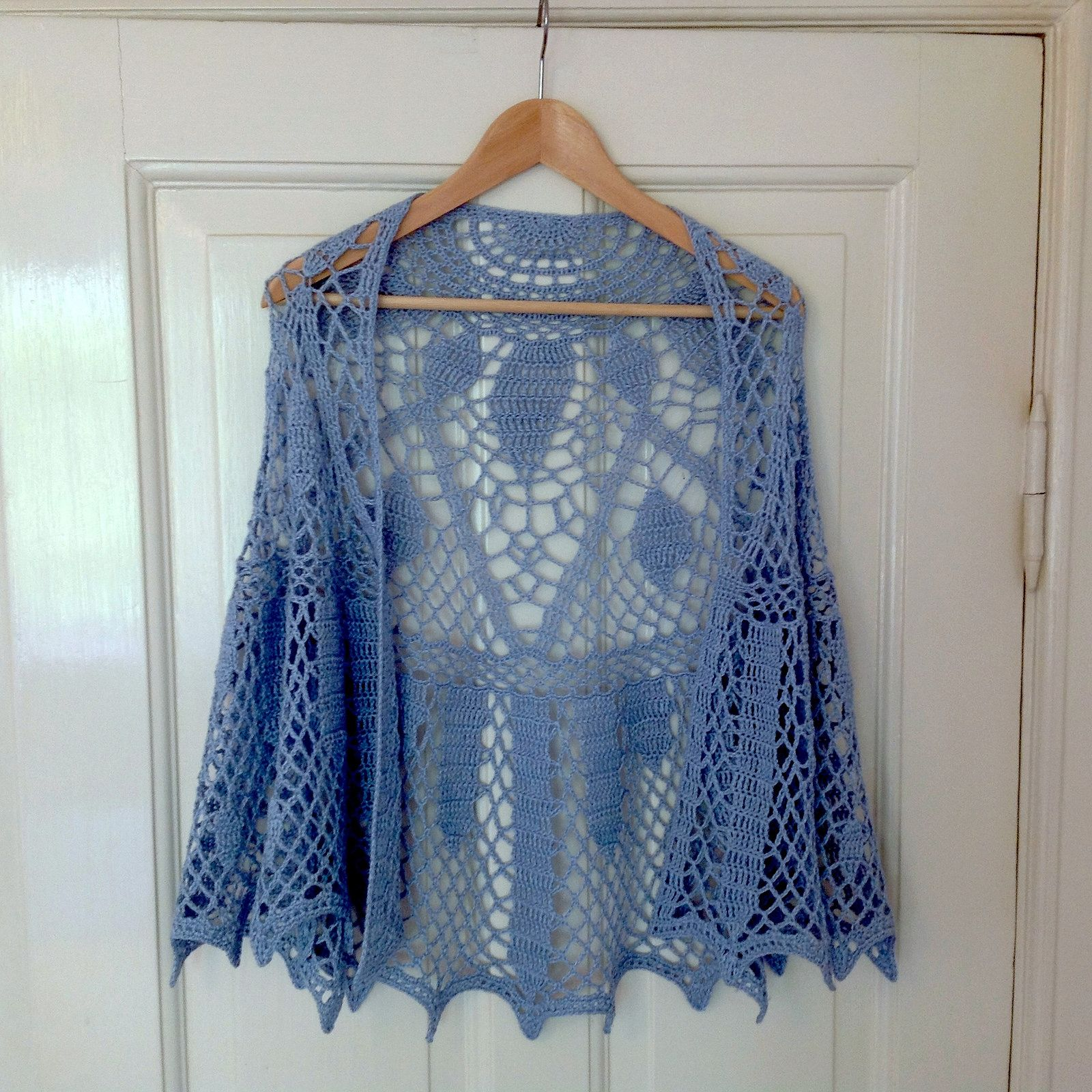 Suvis Crochet Art Deco Sunburst Shawl A True Work Of All Stitch Diagrams Doris Chan