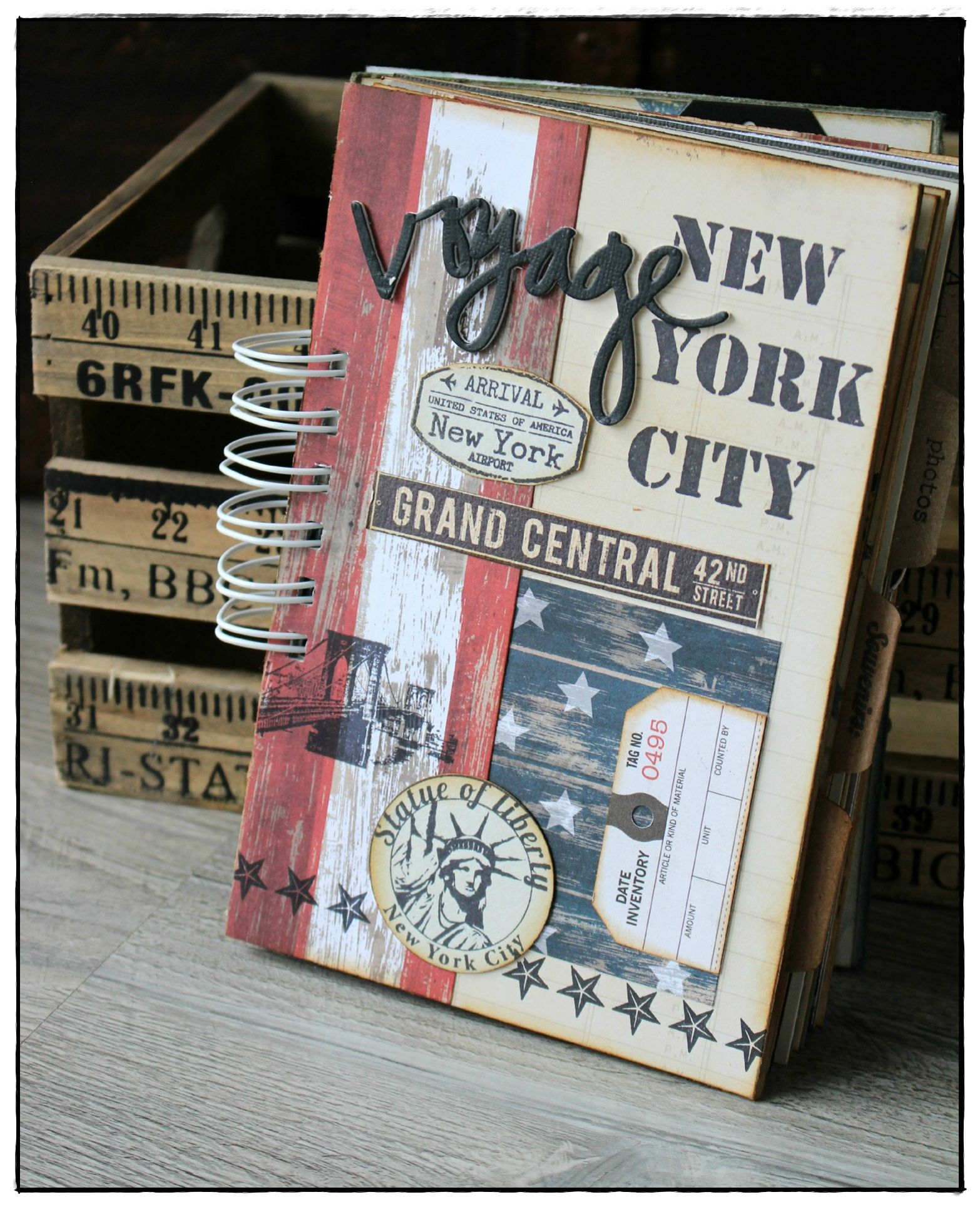 Ny Couverture Scrapbook Pinterest Lbum