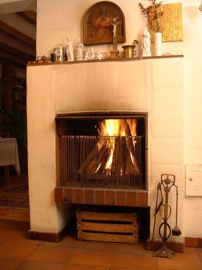 An Open Fireplace Installing A Fireplace Wood Burning