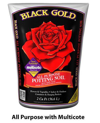 Black Gold  All Purpose  Potting Soil