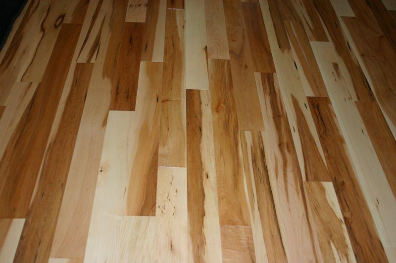 Rustic Maple Floors Casas