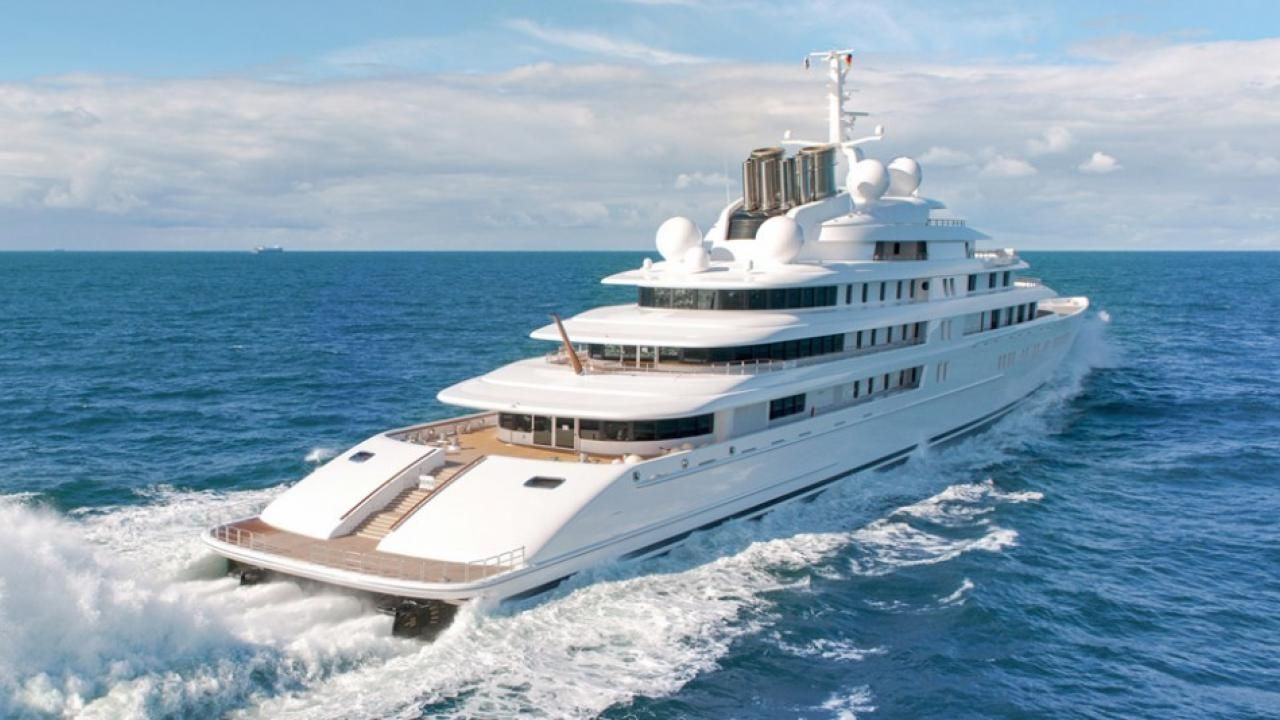 Azzam the full story behind the longest yacht in the