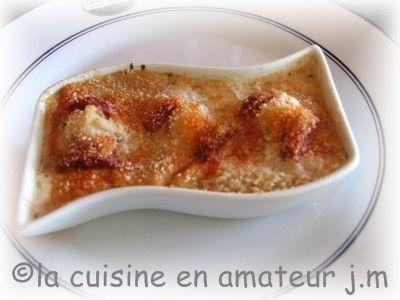 Cassolette Saint Jacques chorizo