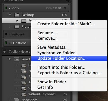 Lightroom update folder location