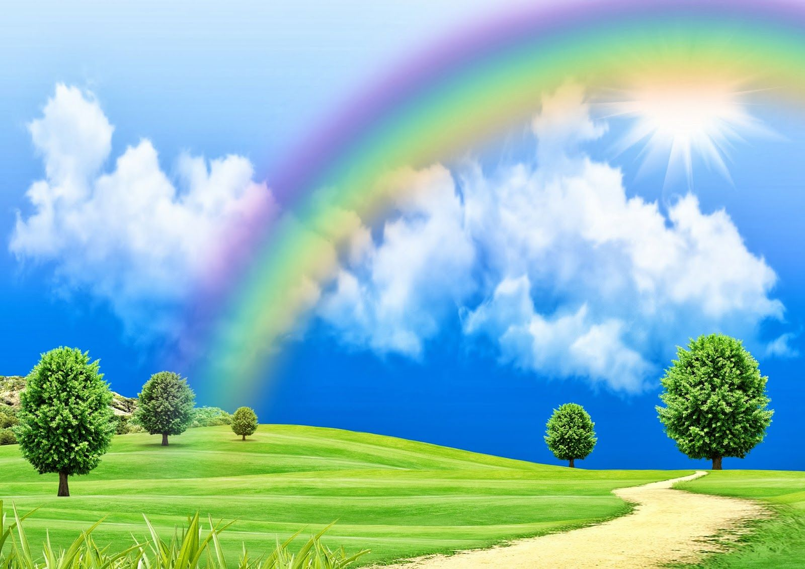 All New Hd Images Free Download Desktop Images Background: Rainbow Wallpapers Free Download HD Latest Amazing