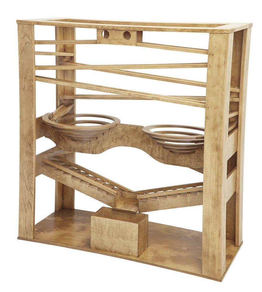 marble maze wooden