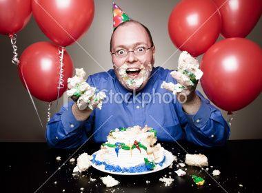 Weird Birthday Stock Photo 3