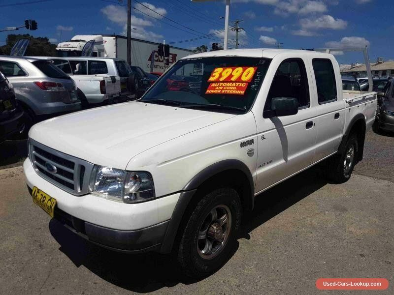 2005 Ford Courier PH GL White Automatic 5sp A Crewcab