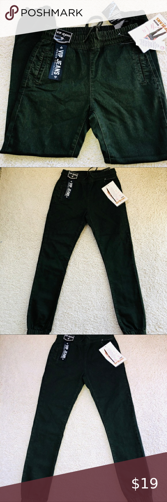 Vip Jeans Joggers Women S Green Size M Vip Jeans Joggers Women S Green Size M Trouser High Rise Pretty Color Dark G In 2020 Jogger Jeans Pants For Women Joggers Womens