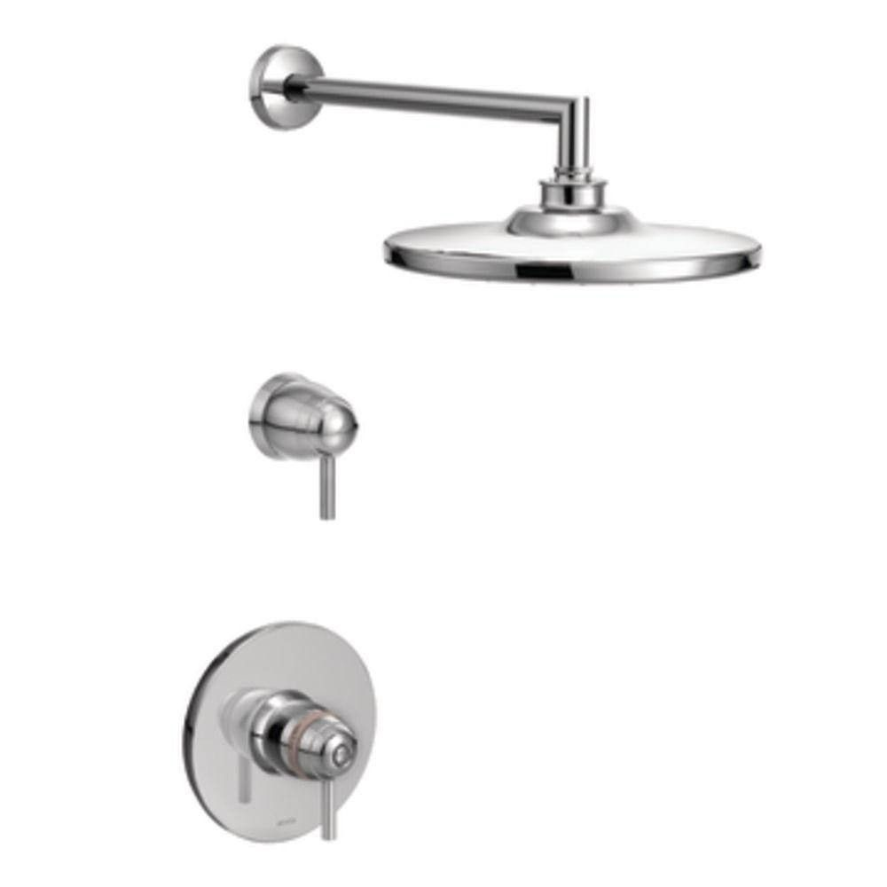 Moen Arris Exacttemp 2 Handle Shower Faucet Trim Kit Chrome