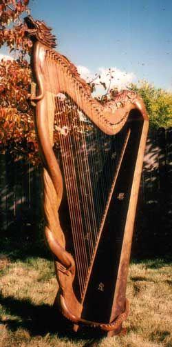 Celtic Harp, Folk Harp, Lever Harp, Irish Harp