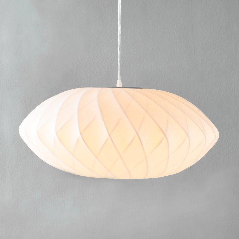 1 Light Unique Statement Geometric Pendant In 2019