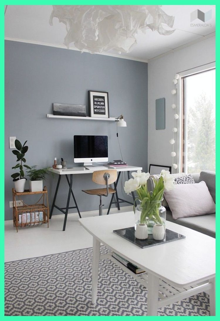 Study Room Color Ideas: 30 Stylish Gray Living Room Ideas To Inspire You