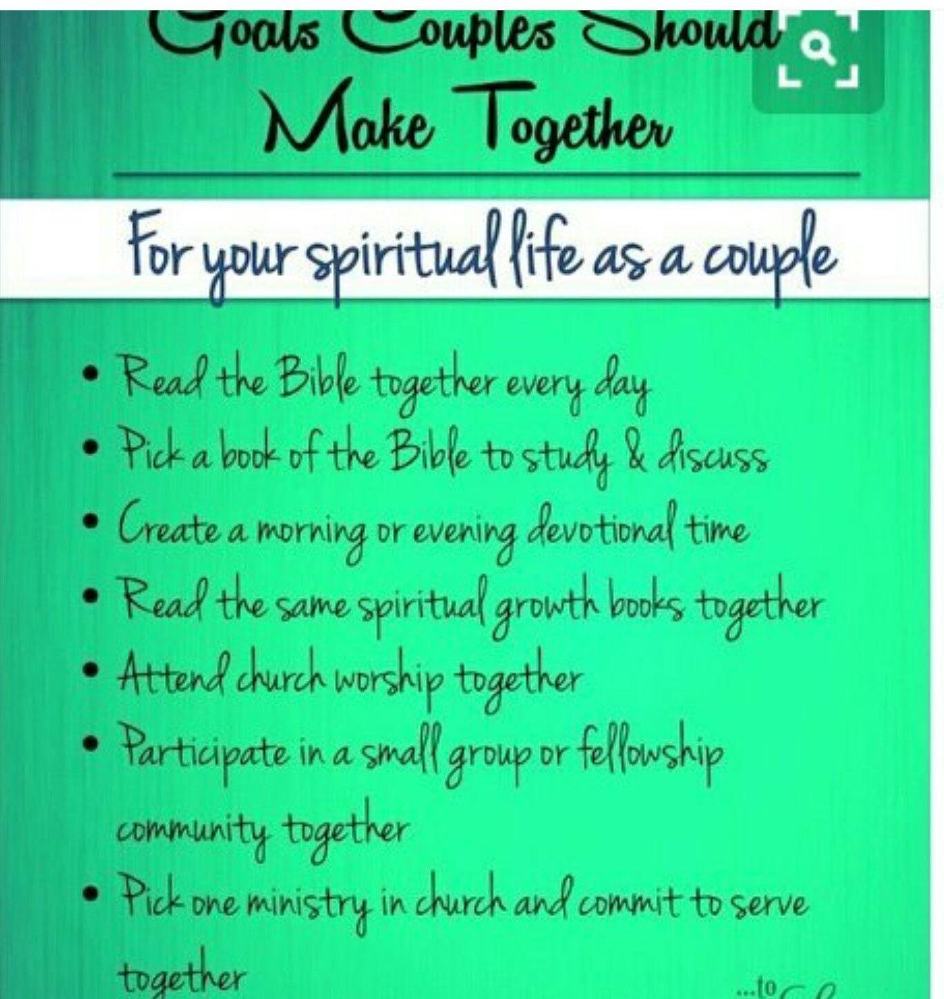 Christian dating goal setting