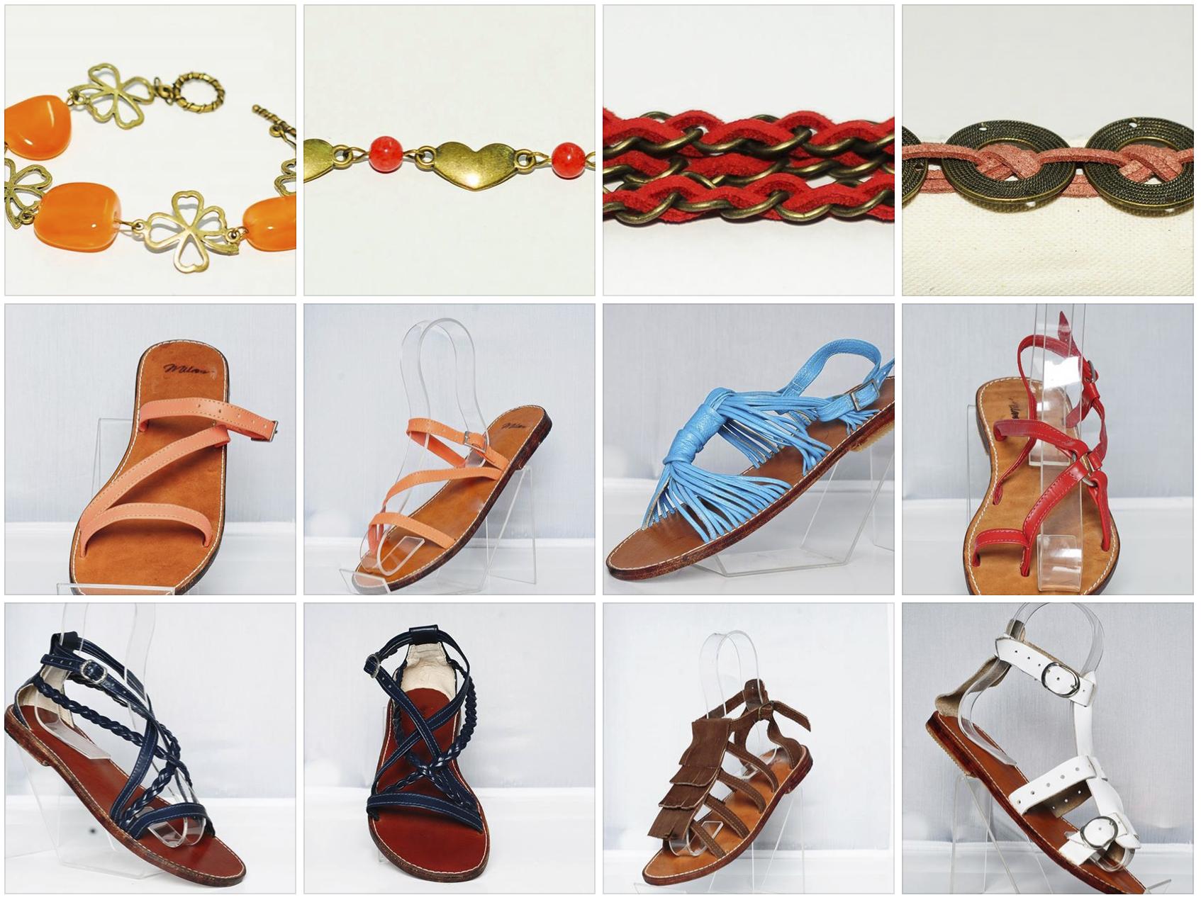Sandalias de cuero y accesorios milam costa rica for Accesorios para piscinas costa rica