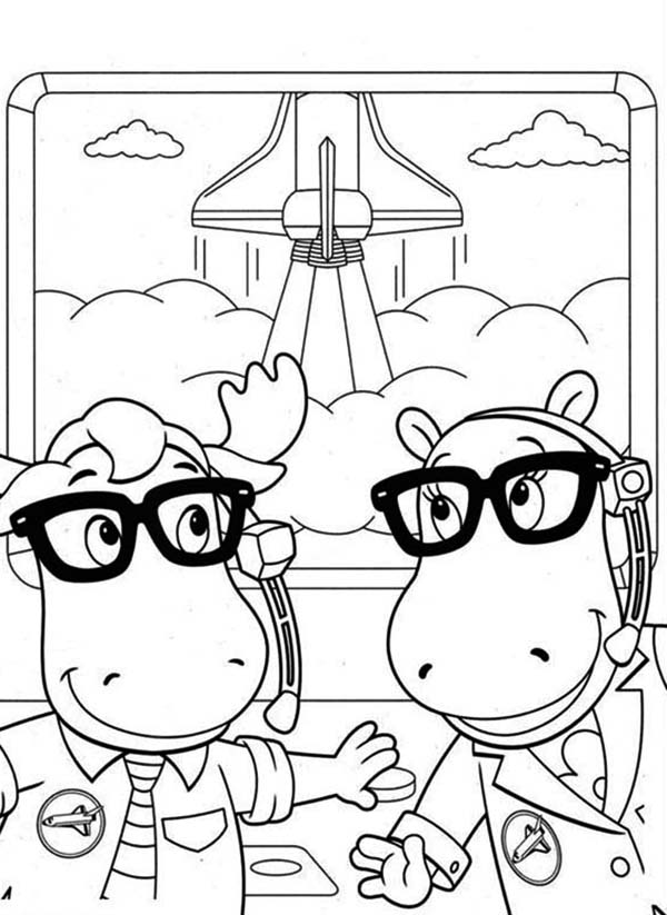 Tasha And Tyrone Work For Nasa In The Backyardigans Coloring Page Kids Play Color In 2020 Nick Jr Coloring Pages Coloring Pages Cartoon Coloring Pages