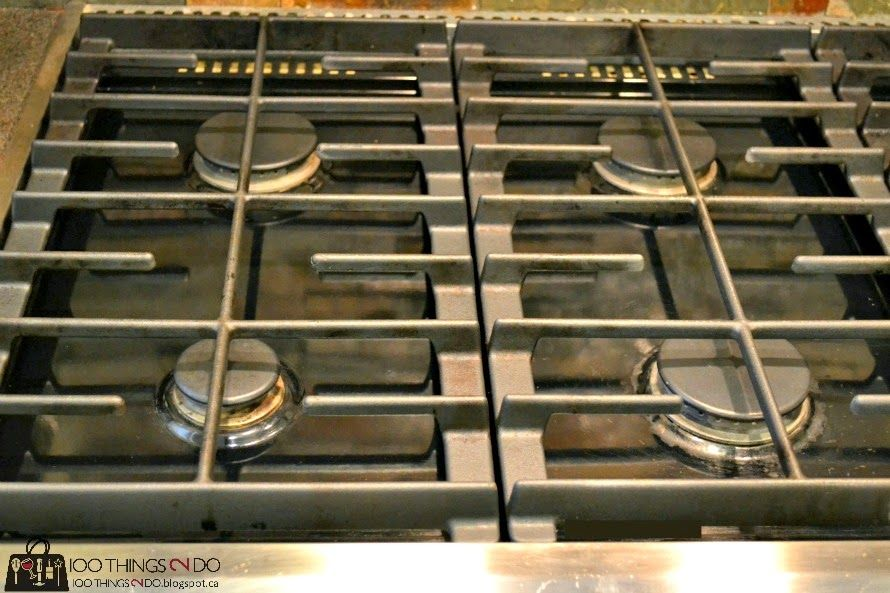 How To Clean Iron Grills On A Cooktop Clean Stove Clean Stove