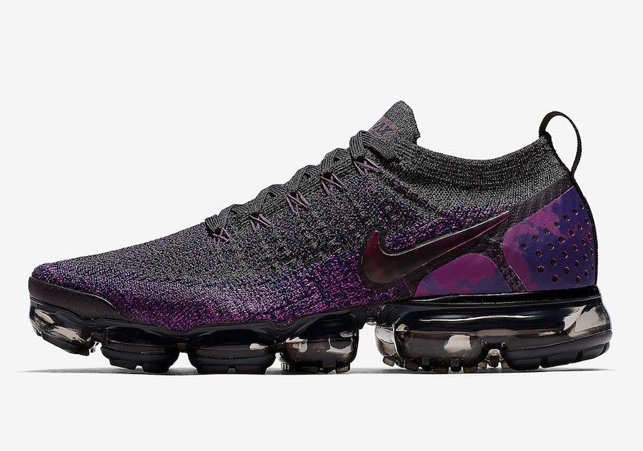 9c9247fc456 Nike Air VaporMax Flyknit 2.0 Night Purple 942842-013 Release Date ...