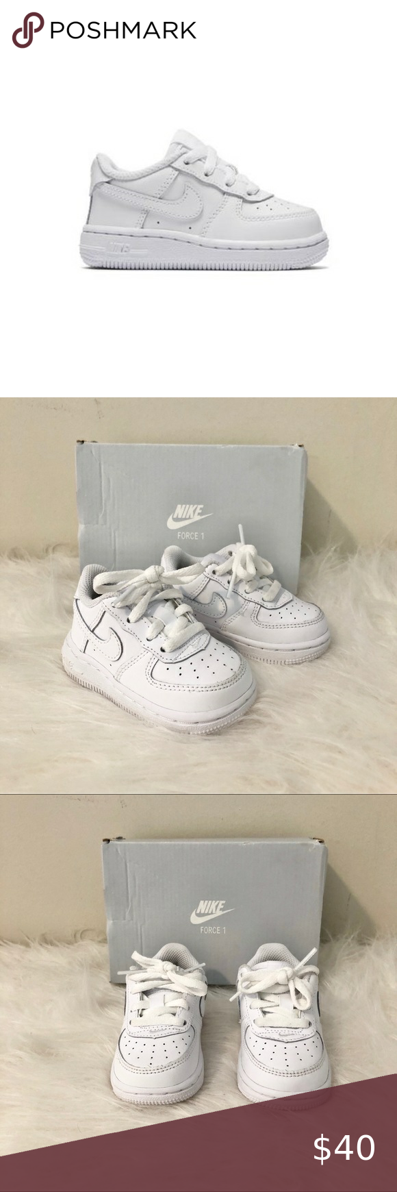 NEW Baby Nike Air Force 1 Size 4 in