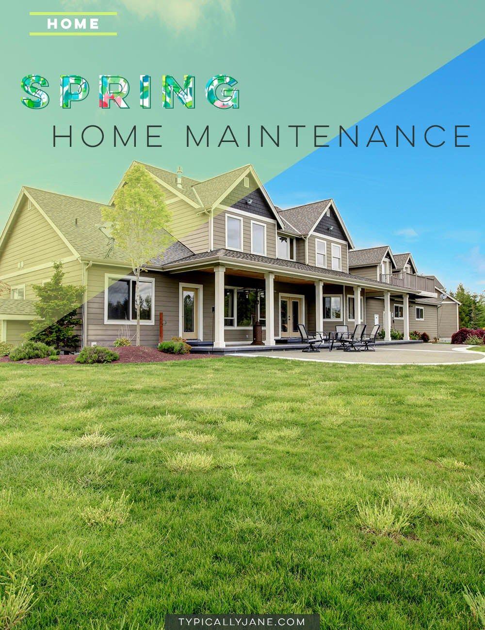 Photo of Spring Home Maintenance • In der Regel Jane