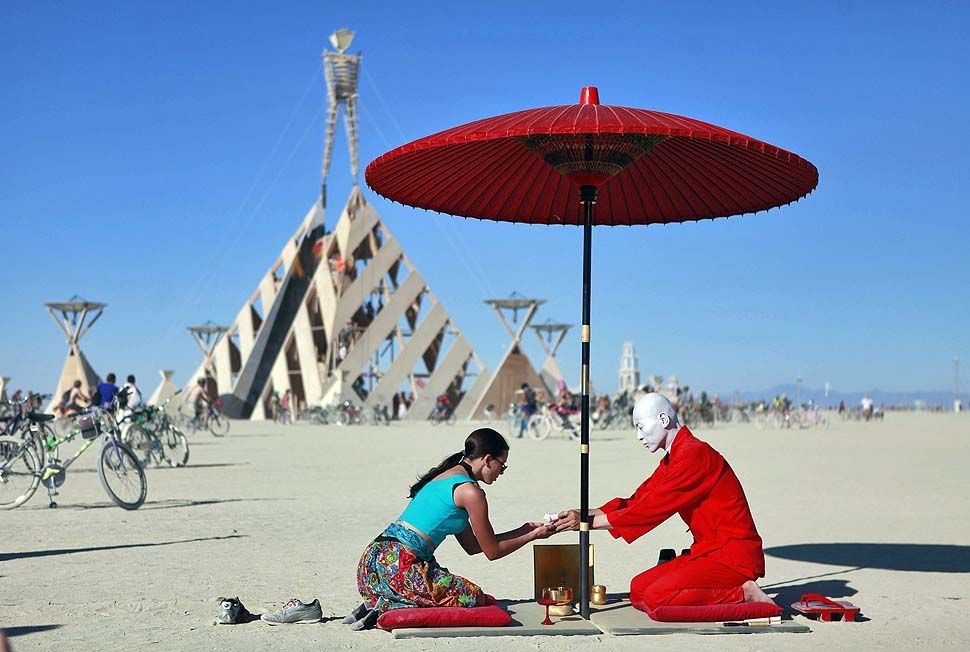 Burning Man 2011 - Tea Ceremony