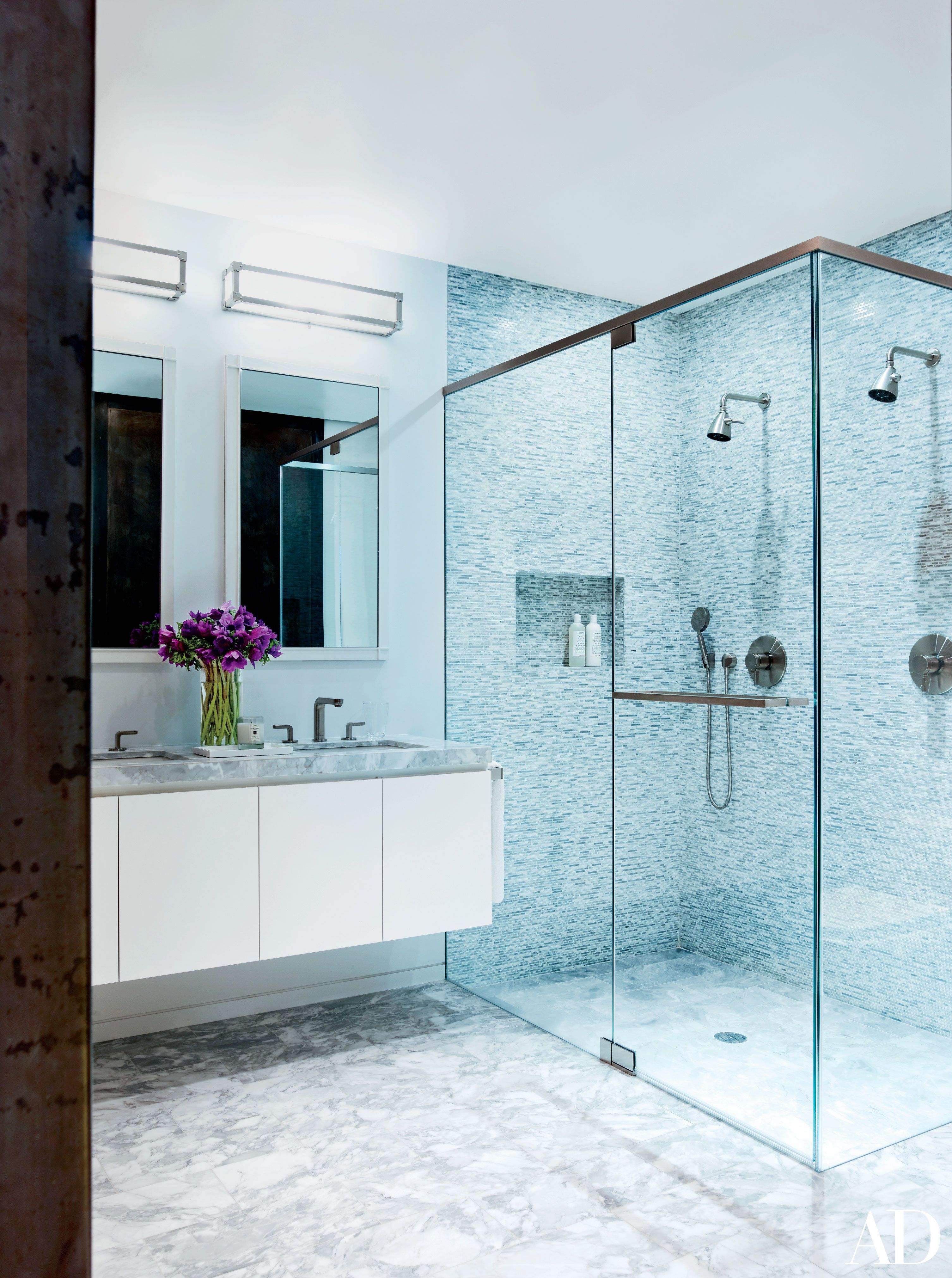 22 Luxury Bathrooms In Celebrity Homes  Architectural Digest Custom Pictures Of Luxury Bathrooms Review