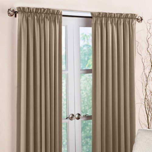 Brylane Home Madison Blackout Panel Taupe 54 W 84 L 14 98